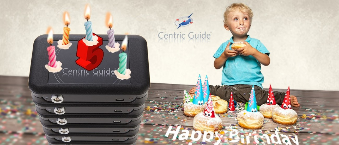 HAPPY BIRTHDAY Centric Guide®!